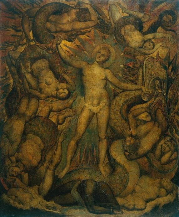 The Spiritual Form of Nelson Guiding Leviathan c.1805-9 William Blake 1757-1827 Purchased 1914 http://www.tate.org.uk/art/work/N03006